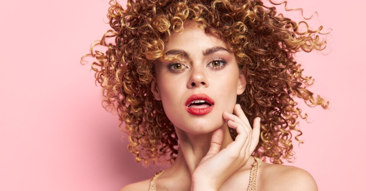 cutting curly hair at home steps