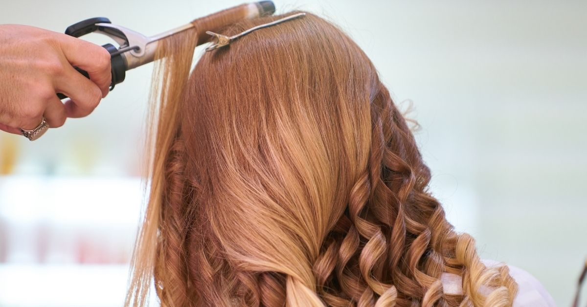 how to curl your hair with a curling iron