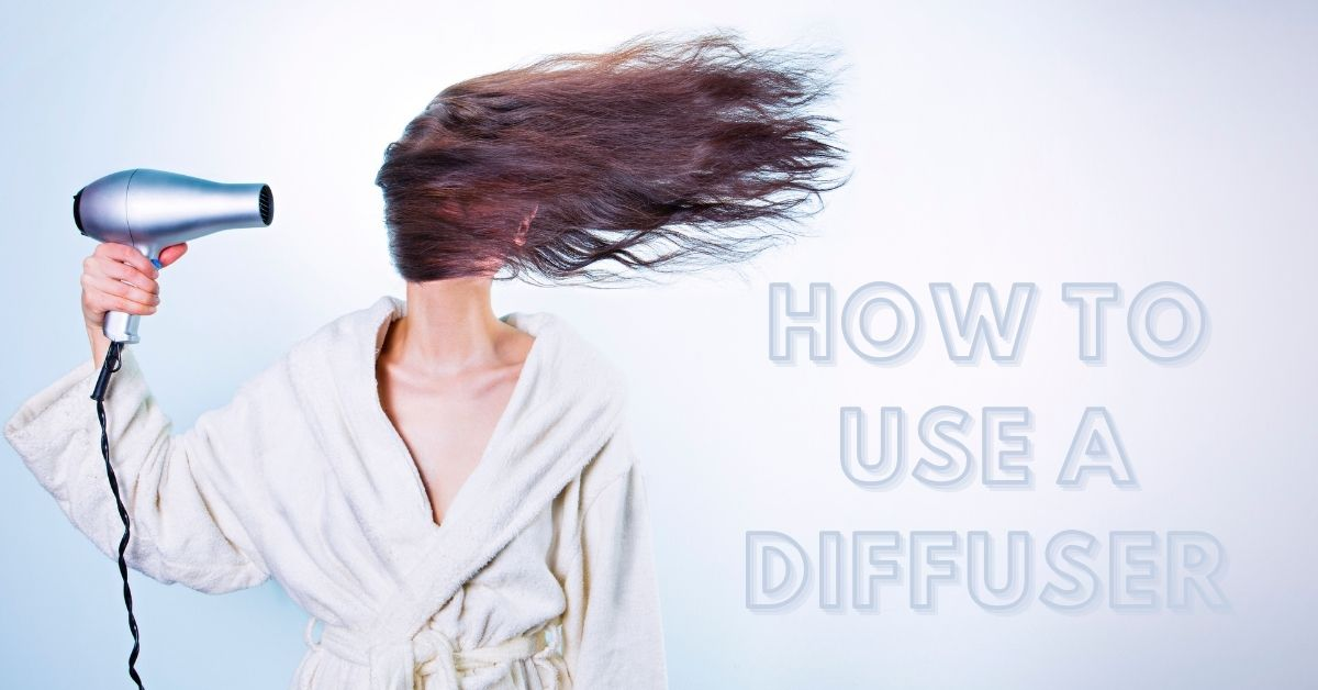 how touse a diffuser for curly hairs