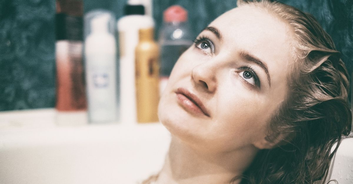 purple use shampoo for blonde hair
