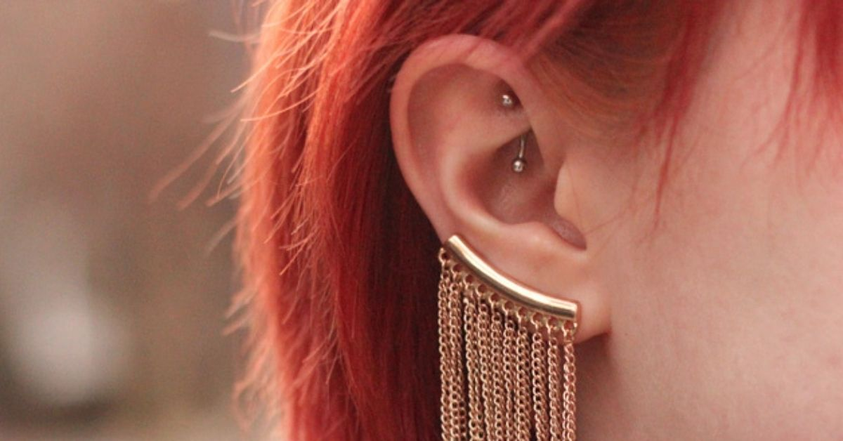 what is rook piercing